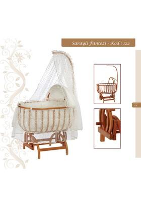 Baby Tech 122 Saraylı Fantazi Doğal Beşik