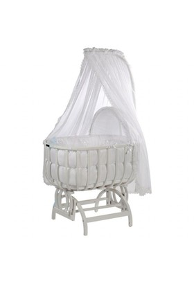 Baby Tech 113 Saraylı Beyaz Beşik