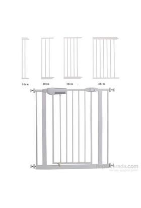 Miny Baby German Style Güvenlik Kapısı / Otomotik Kapanır - Uzatma Parçası / Beyaz