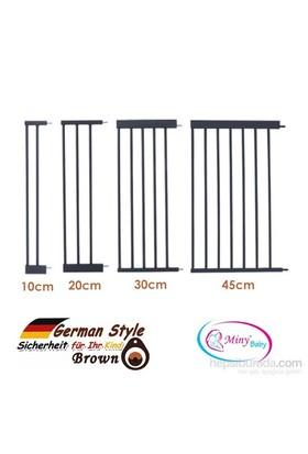 Miny Baby German Style Güvenlik Kapısı / Otomotik Kapanır Uzatma Parçası / Kahverengi
