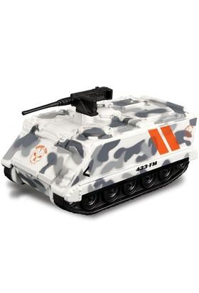 Maisto Metal Forces Askeri Savaş Aracı Tank Tango 9 Cm Beyaz Kamuflaj