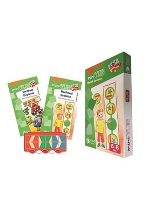 Miniyup 6-8 Mantık Oyunları (2 Kitapçık + Kontrol Kutusu)
