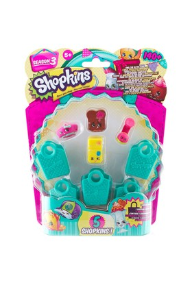 Shopkins Cicibiciler 5'Li Figür Set Model 8