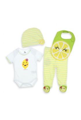 Modakids Wonder Kids Erkek Bebek 3'Lü Takım 010-348-001