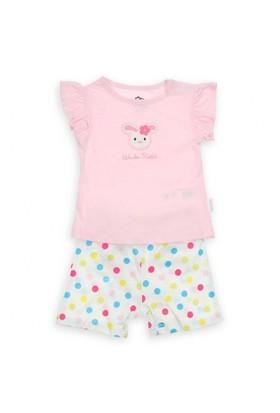 Modakids Wonder Kids Kız Bebek Şort Takım 010-2736-021