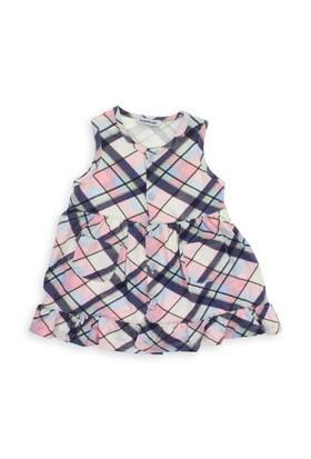 Modakids Bambaki Kız Bebek Askılı Elbise 013-0066-025