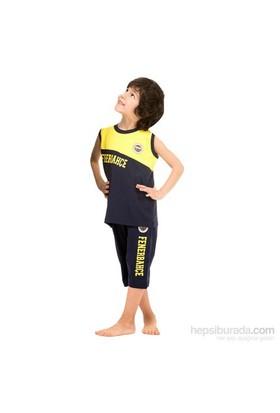 Roly Poly 3038 Fenerbahçe Lisanslı Erkek Çocuk Pijama Takımı Sarı-Siyah 5 Yaş (110 Cm)