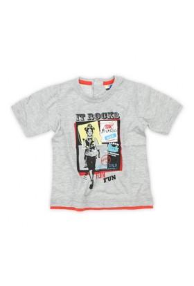 Modakids Nanica Erkek Bebek Baskılı T-Shirt (1-3 Yaş) 001-4902-011