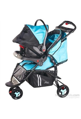 Johnson Db-213 Jogger Travel Bebek Arabası Turkuaz