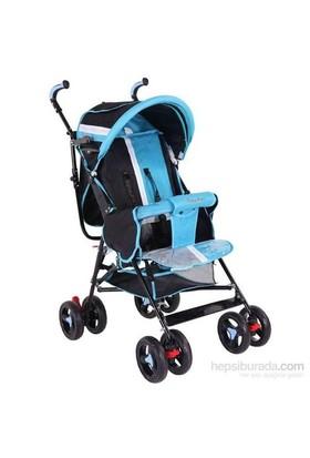 Babyhope Sa-7 Ekstra Baston Bebek Arabası Mavi