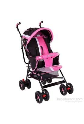 Babyhope Sa-7 Ekstra Baston Bebek Arabası Pembe
