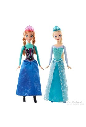 Disney Frozen Pırıltılı Anna/Elsa