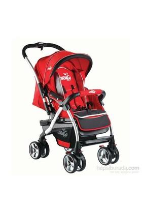 Drago Bco Bebek Arabası Kırmızı
