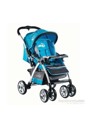 Drago Bco Bebek Arabası Mavi