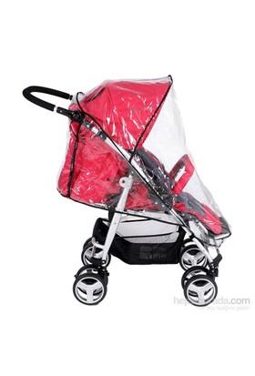 Bebefox Bebek Arabası Yagmurlugu Siyah