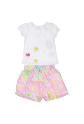 Modakids Wonder Kids Kız Bebek Şortlu Takım 010-1318-027