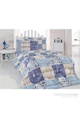 Cotton Box Genç Uyku Seti Tek Kişilik - Private Mavi