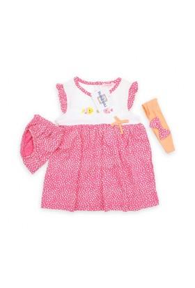 Modakids Bambaki Kız Bebek 3'Lü Elbise Set 013-01108-021