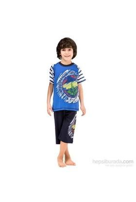Roly Poly 3035 Fenerbahçe Lisanslı Erkek Çocuk Pijama Takımı Lacivert 5 Yaş (110 Cm)