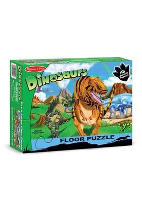 Melissa&Doug Dev Yer Yapbozu - Dinozor Dünyası (48 Parça)