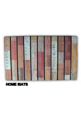 Giz Home Mozaik Paspas Home Siats 45X75 Cm