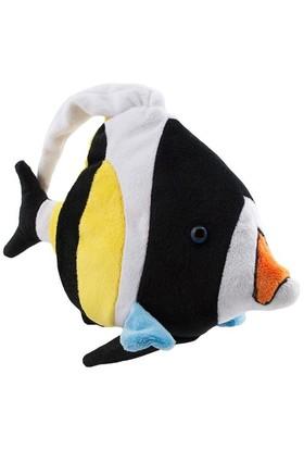 Neco Plush Siyah Beyaz Balık Peluş Oyuncak 20 Cm