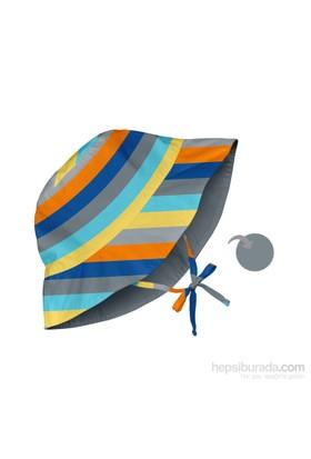 İ Play Upf 50+ Güneş Korumalı Çift Yönlü Bucket Bebek Şapka Gri
