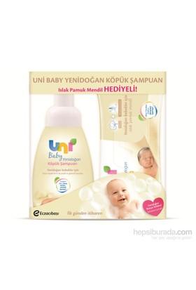 Uni Baby Yenidoğan Köpük Şampuan (Uni Baby Yenidoğan Mendil Hediyeli)