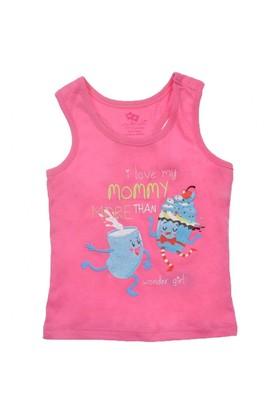 Modakids Wonder Kids Kız Bebek Baskılı Atlet 010-1306-022