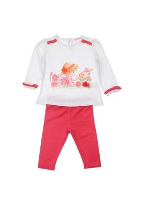 Modakids Bambaki Kız Bebek Çiçekli Takım 013-0030-027