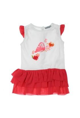 Modakids Bambaki Kız Bebek Baskılı Elbise 013-0032-027