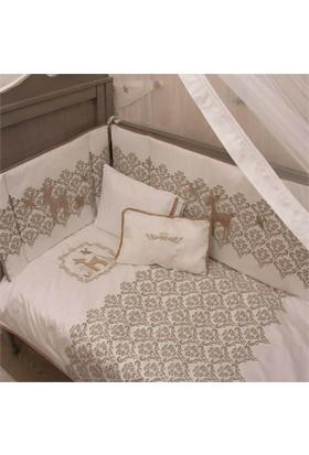 Aybi Baby Damask Bebek Uyku Seti 80X140