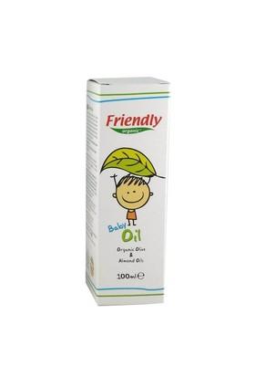 Friendly Organic Bebek Yağı Organik Zeytinyağı Ve Badem 100 Ml