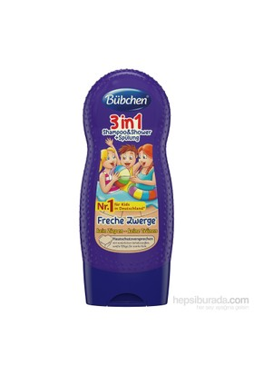 Bübchen Çocuk Şampuanı ve Duş Jeli 3in1 230 ml