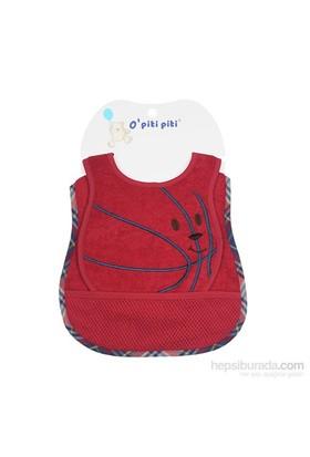 O Piti Piti Kırmızı 2'Li Basketbol Önlük