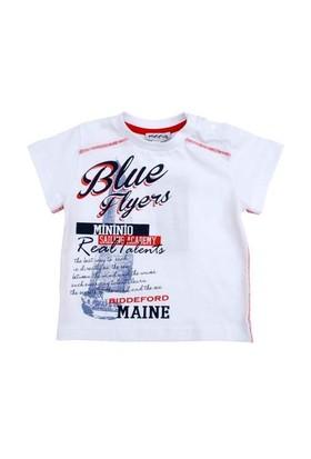 Zeyland Erkek Çocuk Beyaz Tshirt K-51M661bcf55
