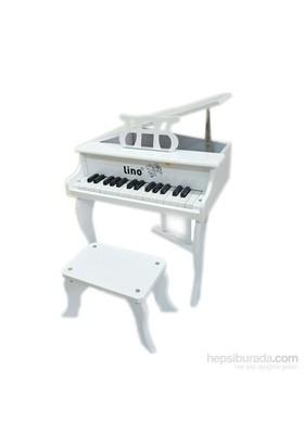 Lino Ahşap Çocuk Piyanosu 30 Tuşlu Ln-P303