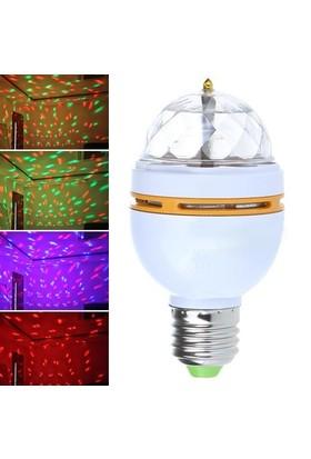Bluezen 3 Renk Işık Yansıtan Dekoratif Lamba Crystal Magic Bulb