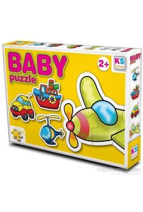 Baby Puzzle Ulaşım Araçları