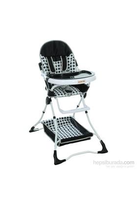 Papetto MA-202 Mama Sandalyesi / Siyah