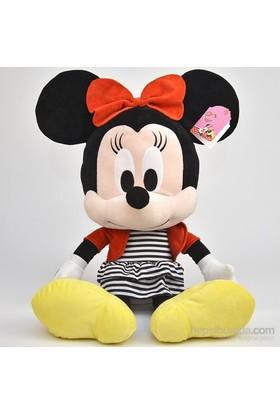 Disney I Love Minnie Peluş Oyuncak 61 Cm Monokrom
