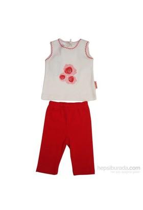 Bebiccino 2960 Bebek Taytlı Takımı Kırmızı 3-6 Ay (62-68 Cm)