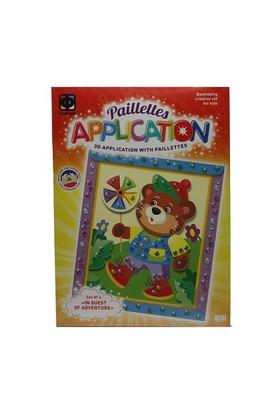 Fantazer Kolay Aplikasyon Seti Parlak No4 (Teddybear) 257034