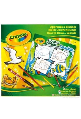 Crayola Hayvanlar Alemi Çizim Öğrenim Seti