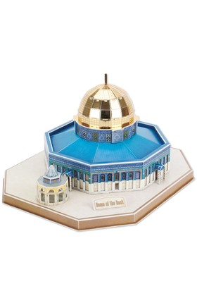 Cubic Fun 3D 48 Parça Puzzle Dome Of The Rock