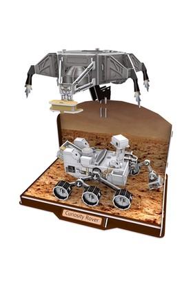 Cubic Fun 3D 166 Parça Puzzle Curiosity Rover