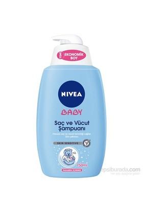 Nıvea Saç Ve Vücut Şampuanı 750Ml
