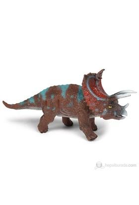Geoworld Avcı Dinozor Pentaceratops Figür 16 Cm