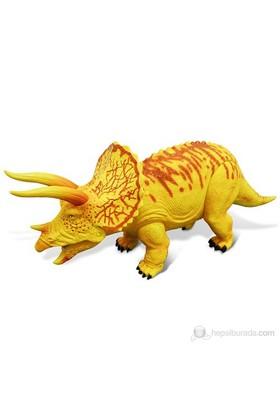 Geoworld Dev Dinozor Triceratops Sesli Figür 36 Cm