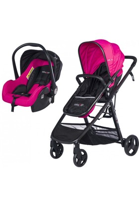 Baby2Go 6032 Escape Travel Puset - Pembe